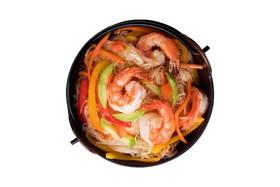 Фунчоза с морепродуктами - Фото