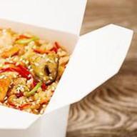 Рис с креветкой Фото