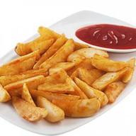 Картофельный дольки Фото