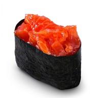 Копченый лосось (спайс-суши) Фото