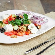 Греческий салат (ланч) Фото