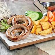Колбаски из телятины с сыром Фото