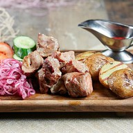 Шашлык из свиной шеи (ланч) Фото