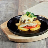 Рыбная сковорода (ланч) Фото