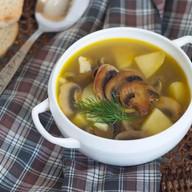 Суп грибной с шампиньонами Фото