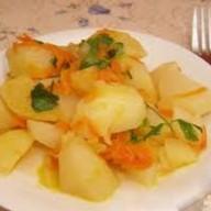 Картошка тушеная Фото