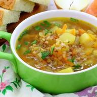 Суп гречневый Фото