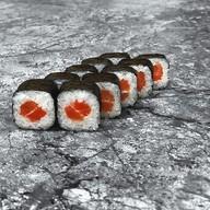 Ролл с копченым лососем new Фото