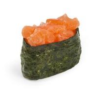 Суши острый лосось Фото