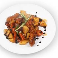 Мясо по-китайски Фото