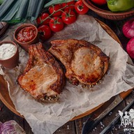 Шашлык из свинины на кости (на вынос) Фото