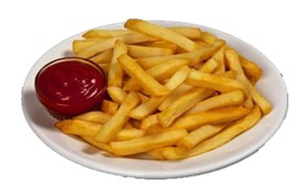 Картофель фри соломка с соусом - Фото