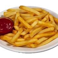 Картофель фри соломка с соусом Фото