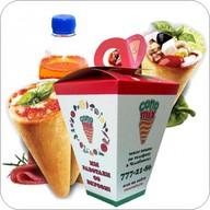 Коно-салат + коно-пицца + напиток Фото