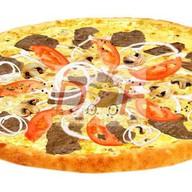 Пицца с телятиной и грибами Фото
