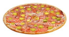 Пицца с лососем - Фото