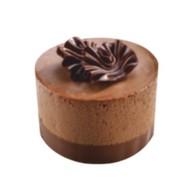 Мусс с бельгийским шоколадом Фото