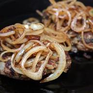 Гладкие кусочки говядины Фото
