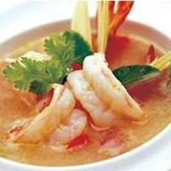 Кисло-острый суп из морепродуктов Фото