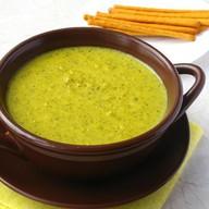 Суп-пюре из кукурузы с куриным фи Фото