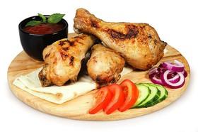 Шашлык из куриной голени - Фото