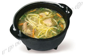 Суп-лапша с курицей - Фото