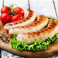 Баварская колбаска гриль Фото