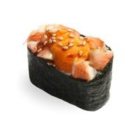 Гункан с креветками в спайси соусе Фото