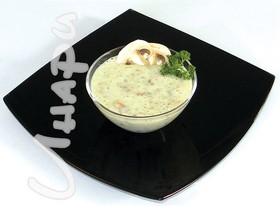 Крем суп из шампиньонов - Фото