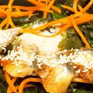 Чука салат с угрём Фото