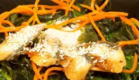 Чука салат с угрём - Фото