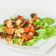 "Горячий салат ""Харумаки"" Фото"