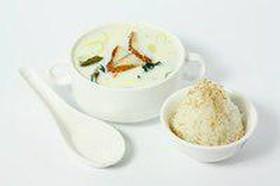 Суп сливочный с угрем - Фото