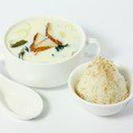 Суп сливочный с угрем Фото