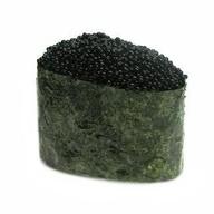 Гункан Тобико (черный) Фото