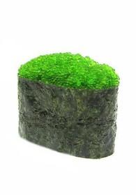 Гункан Тобико (зеленый) - Фото