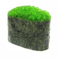 Гункан Тобико (зеленый) Фото