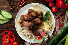 Шашлык из свиной шейки - Фото