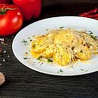 Запеченный картофель с сыром Фото