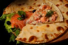 """Закрытая пицца """"Норвежская"""" - Фото"""