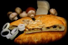 С грибами и сыром - Фото