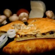 С грибами и сыром Фото
