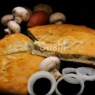 С грибами и картофелем Фото