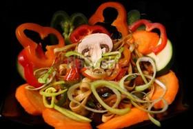 Удон с овощами - Фото