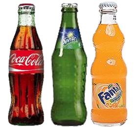 Caca-cola, sprite,fanta. - Фото