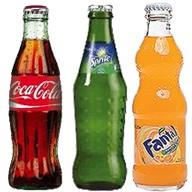 Caca-cola, sprite,fanta. Фото