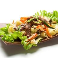 Теппаньяки с говядиной и овощами Фото