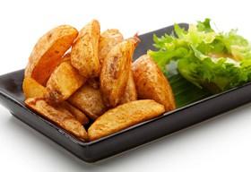 Картофель фри в деревенском стиле - Фото
