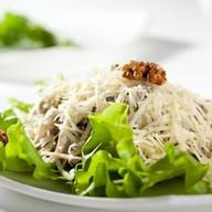 Салат с кальмарами Фото