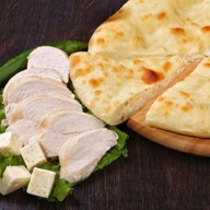 Осетинский пирог с курочкой и сыром Фото